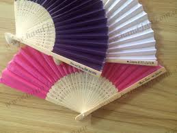silk fans personalized wedding silk fans wholesale custom printed free