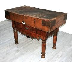 antique french butcher table french 19th century butcher s block haunt antiques for the