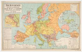 Europe Map During Ww1 Wwi Timeline World War One