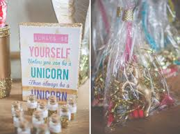 edible party favors a magical unicorn birthday party kate aspen