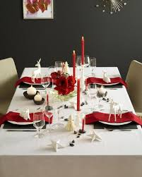 black and white table settings 21 modern christmas table settings to get inspired shelterness
