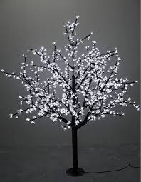 outdoor lighted cherry blossom tree 1 5m 5ft height outdoor waterproof artificial christmas tree led
