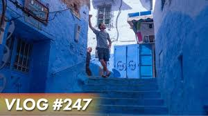 Morocco Blue City by The Blue City Morocco Vlogs Day 6 Youtube
