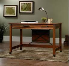 support pc bureau rustic writing desk antique computer stand wood office table vintage