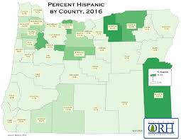 Portland County Map by Orh Maps Oregon Office Of Rural Health Ohsu