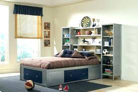 twin bed with bookcase headboard and storage twin bed headboard with storage mirador me