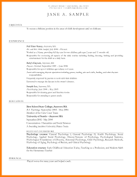 10 resumes for child care mla cover page