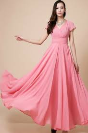 maxi dresses with sleeves pink maxi dress dressed up girl