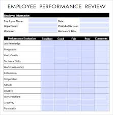 appraisal form in doc 11 hr appraisal forms hr templates