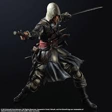 Black Flag Statue Puzzle Assassins Creed Iv Black Flag Play Arts Kai Actionfigur Edward