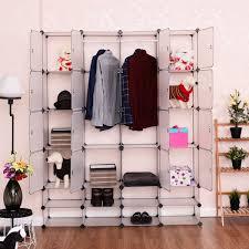 16 8 cubes portable clothes wardrobe closet organizers u0026 garment