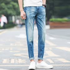 Skinny Jeans With Holes Online Buy Wholesale Destroyed Bleached Skinny Jeans From China