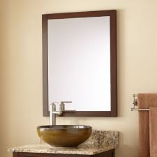everett vanity mirror wenge bathroom mirrors bathroom