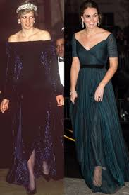 the model and the color of the plus size wedding guest dresses for winter princess diana and kate middleton have the same style kate