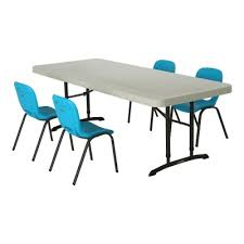 Children S Chair And Table Children U0027s Chair And Table Combo Glacier Blue Chairs Almond Table