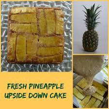 fresh pineapple upside down cake recipe pineapple upside cake