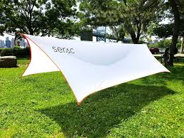 serac ultralight hammock rain fly tarp review the hammock expert