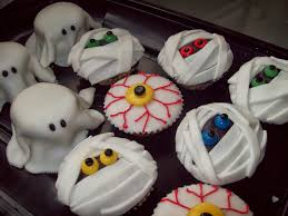 Halloween Cupcakes Cakes by Healthiana Spooky Halloween Cupcake Decorations
