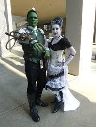 Bride Frankenstein Halloween Costume Ideas Diy Rockabilly Frankenstein Halloween Couple Costume Idea Diy