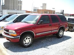 opel blazer 1998 chevrolet blazer specs and photos strongauto