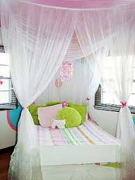 Girls Bed Curtain Bed Canopy Off The Wall