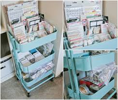 Ikea Craft Cart Okay I Definitely Need To Get This For My Scrapbook Room And One