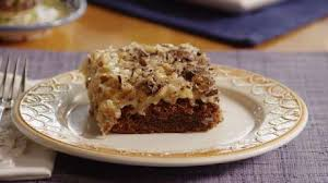 german chocolate cake frosting video allrecipes com