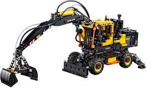 lego technic sets lego technic volvo ew 160e 42053 lego technic lego gaminiai