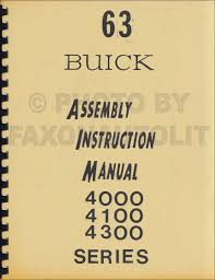 cd rom 1963 1964 buick special and skylark factory assembly manual
