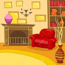 cartoon living room background hand drawn cartoon of living room colourful cartoon background