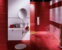 red wall bathroom ideas best bathroom decoration