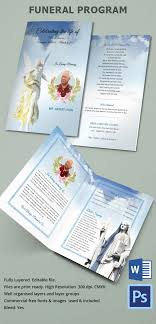 funeral programs printing 31 funeral program templates free word pdf psd documents