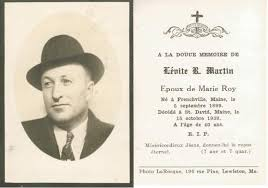 funeral card funeral cards levite martin s funeral card our acadian