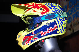 motocross helmet red bull dirt bike magazine troylee designs 2016 se4 helmet launch