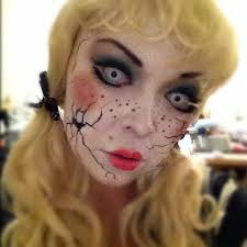 China Doll Halloween Costume 25 Cracked Doll Makeup Ideas Scary Doll