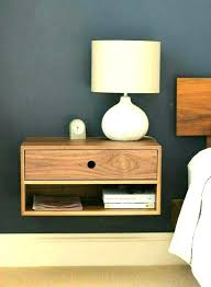 night stand ideas floating nightstand ideas wall mounted with drawer nightstands