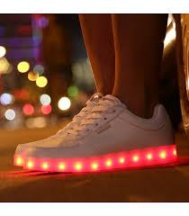 Who Sings Light Em Up Lite Up Low Top Shoes U2013 White Lite U0027em Up