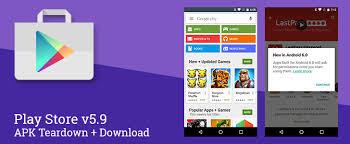 play store android play store 5 9 se prépare à l arrivée d android 6 0