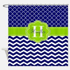 lime navy shower curtains lime navy fabric shower curtain liner
