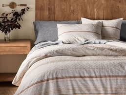 organic cotton pintuck duvet cover shams white west elm throughout