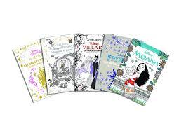 art of coloring disney animals villains moana princess and