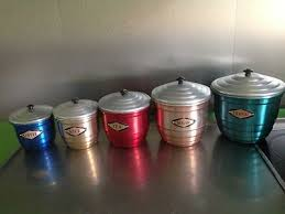 vintage canisters for kitchen 178 best vintage kitchen canisters images on kitchen