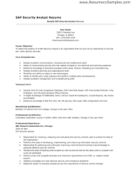 security resume samples free resumes tips