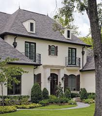 modern exterior paint colors for houses brown roofs window and
