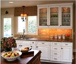 Kitchen With Brick Backsplash Best Brick Backsplash Interior Also Home Interior Design Concept