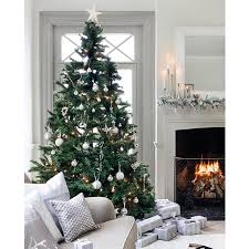 2015 silver and white tree decorations white tree
