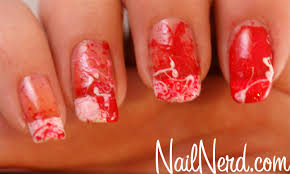 orange nails beverly the nail collections