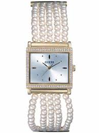 pearl bracelet watches images Guess watches 11026l1 dubai guess women watches united arab jpg