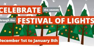 burlington festival of lights 2017 on december 01 2017