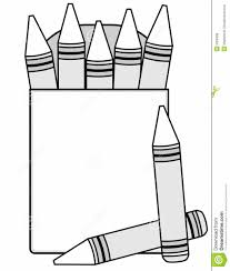 blank crayon clipart clipart kid blank crayon coloring page in